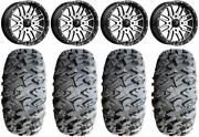 Honda Talon 1000r/x Mounted Wheel And Tire Kit - 18 M38 Brute And 33 Efx Motoclaw