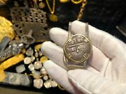 Mexico Maravillas 1656 Shipwreck Money Clip Jewelry 4 Reales Pirate Gold Coins