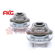 Front Wheel Hubs And Bearings Pair Set Of 2 New For Chevy Gmc Olds 4wd 4x4 513061