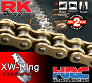 Rk Black Xw-ring Drive Chain 530 P - 112 L For Suzuki Motorcycles