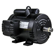 5hp 184t 1 Phase 1750 Rpm Electric Motor Replaces Baldor L1430t Compressor Duty