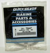 New Quicksilver Marine Boat Tab Washer Pack Of 2 Part No. 14-79447