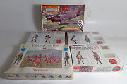 Lot Of 5 Vintage Model Kits Military Figures Beaufighter Airfix Matchbox Sealed