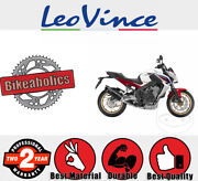 Leovince Complete Exhaust System - Lv One Ii - Evo 2 For Honda Motorcycles