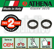 Athena Fork Oil Seals - 41x54x11 Mm For Honda Motorcycles