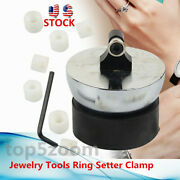 Jewelry Tools Ring Setter Clamp Ring Engraving Ball Diamond Stone Setting Top