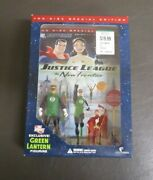Justice League The New Frontier Dvd Dc Direct Exclusive W Green Lantern Figure