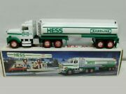 Hess 1990 New Hess Toy Tanker Truck Horn And Back Up Alert Dual Sound Mib