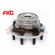 1 New Front Wheel Bearing And Hub W/abs For Chevy Gmc 2500 3500 8 Lug 4x4 515088