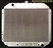 3 Row Aluminum Radiator 1966-1979 Ford Truck F-100 F-150 F-250 F-350 Chevy Eng