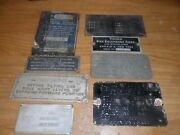 Serial Tags And Body Tags. Misc. Lot Free Shipping Lot3