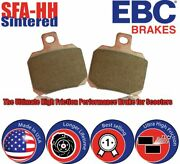 Ebc Sintered-scooter Brake Pads For Kawasaki Scooters