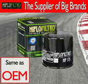Hiflo Oil Filter - Hf175 For Indian Scooters