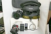 Canon Eos 70d 20.2mp Digital Slr Camera - Kit W/ Ef 14 Is Usm Lens And Extras