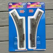 2 Atlas 1/87 Ho True Track N/s Rail Manual 22 Radius Snap Switches R/h And L/h