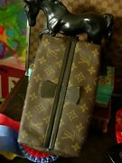 Vintage Louis Vuitton Saks Cosmetic Accessory Luggage Travel Dopp Rare Handsome