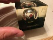 Vintage Mgm Paperweight Casino Dice Paper Weight Rtsi Design