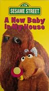Sesame Street A New Baby In My House Vhs 1994 Super Rare Collectors Tape-ship24h