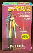 Aurora Monsters Of The Movies Dr. Jekyll Gid Assembly Kit Nib Ca 1975