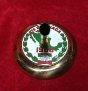Mexico 1968 Xix Summer Olympic Games Fountain Pen Desk Stand Brass