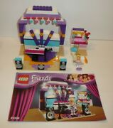 Parts + Pieces Lot Lego Friends Set 41004 Band Rehearsal Stage Concert Rockstar