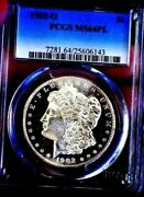 Morgan Silver Dollar 1902 O Pcgs Ms 64pl++++ Dmpl Off Grade Monster Mirrors Wow