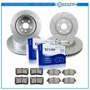 Ceramic Brake Pads And Rotors Front Rear For Lexus Gs300 Is250 2.5l 3.0l