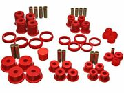 For 1984-2001 Jeep Cherokee Suspension Bushing Kit Energy 33738sw 1994 1985 1986