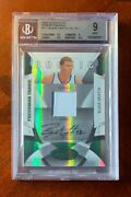 Blake Griffin 2009-10 Totally Certified Rookie Jersey Auto Green 171 4/5 Fabric