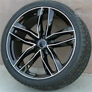 Set4 20x9.0 5x112 Wheels And Tires Package 5x112 Audi A4 A5 A6 A8 S4 S5 Rotor