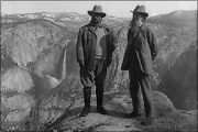 Poster Many Sizes President Theodore Roosevelt Left And John Muir