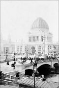 Poster Many Sizes Worldand039s Columbian Exposition Chicago Worlds Fair 1893