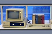 Poster, Many Sizes Ibm Personal Computer, 1981 Computer History