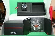 Oris Aquis Small Second Date Rubber Band With Original Box And Manual