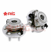 New Front Wheel Hub And Bearing Assembly For Chevy Gmc Cadillac 4wd 4x4 515096 X2