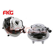2 Front Wheel Bearing Hub For 06-10 Ford Explorer And Mercury Mountaineer 515078