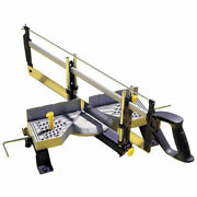 Stanley 20-800 Adjustable Angle Clamping Mitre Box Aluminum