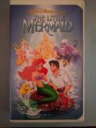 Original Banned Cover The Little Mermaid Vhs - Rare Discontinued Controversial