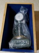 Mitutoyo No.7003 Dial Gage Stand Comparator Inspection Base W/ 2802 Gauge Andbox