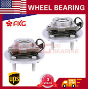 Fits 2002-04 2005 Dodge Ram 1500 W/abs 515073 2 Front Wheel Hub Bearing Assembly