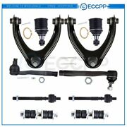 New Parts Complete Suspension Kit +sway Bar Tie Rod Ends For 1996-00 Honda Civic