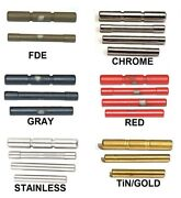 Cds Stainless Steel Pin Kits For Glock Gen 1 -5 Choose Model And Color