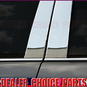 Chrome Stainless Steel Pillar Posts 2011-2019 Ford Explorer With Keypad Cutout