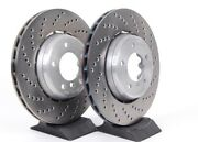 Genuine Bmw Performance Oem Brake Rotors - Front And Rear Rare New Old Stock