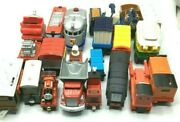 Learning Curve Fisher Price Tomy Mattel Lot Of 18 Geotrax Trains 1999 2005 And03906