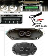 1965 Cadillac Convertible Radio Aux Usb Front Rear Speakers Stereo 630 Ii