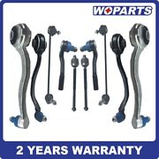 Front Suspension Control Arm Sway Bar Link Kit Fit For Mercedes-benz Clk-class