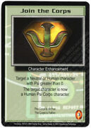 Babylon 5 Ccg Psi-corps Promo Card Join The Corps Used Played