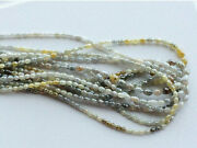 4 Inch 12 Carat Natural Multicolor Rough Diamond Beads 6.5mmx4.5mm To 3x3.5mm
