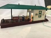 Lionel 256 Freight Station,lighted This Item Has Been Modified See Photos